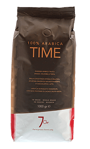 7Gr. Time 100% Arabica 1000g Bohnen