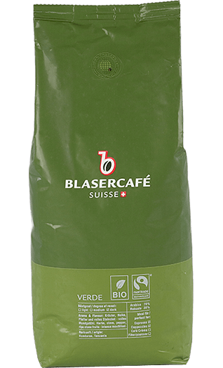 Blaser Cafe Verde BIO Fairtrade Bohnen 250g