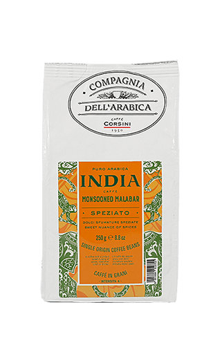 Caffe Corsini India Monsooned Malabar Compagnia Dell'Arabica 250g Bohnen